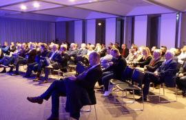 Conférence économique avec Yann Vincent dans les locaux d'Entreprises & Cités à Marcq-en-baroeul